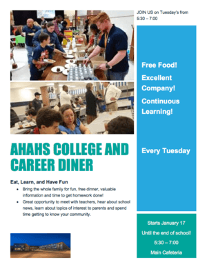 College and Career Diner