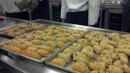 Fococcia Bread made by Culinary Arts for NMASC State Conference