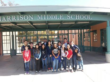 Harrison Middle School Clean-up